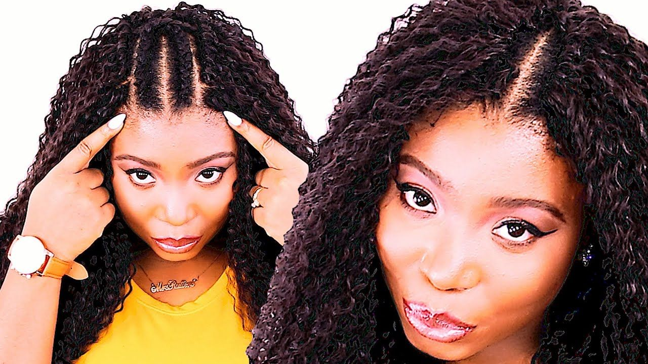 How To Crochet Braids For Beginners Step By Step Youtube In 2020 Crochet Hair Styles Crochet Hair Styles Freetress Best Crochet Hair