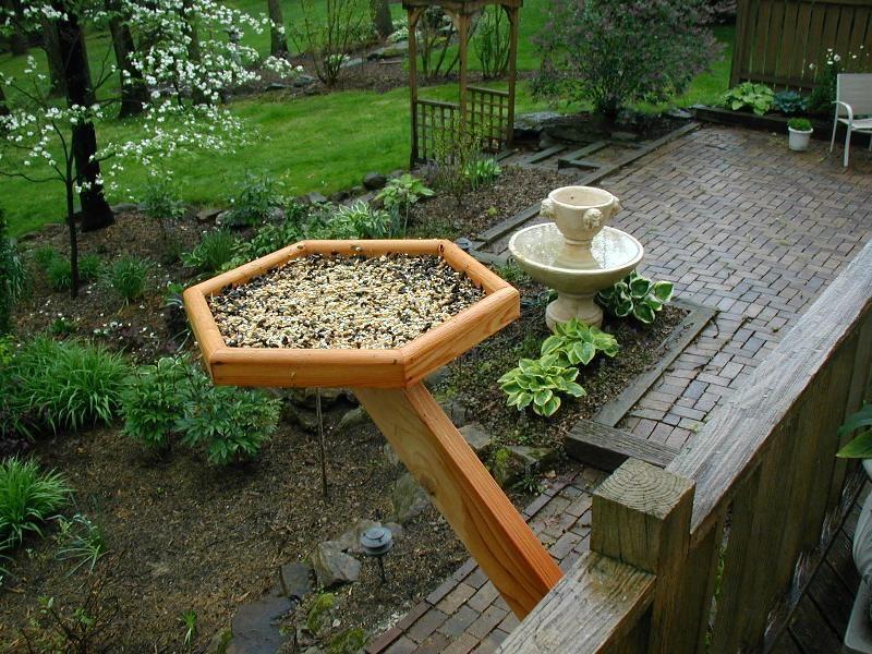 feeder hangers for hooks pack double garden all patio outdoor wall deck bird com metal weather pennington amazon dp decks
