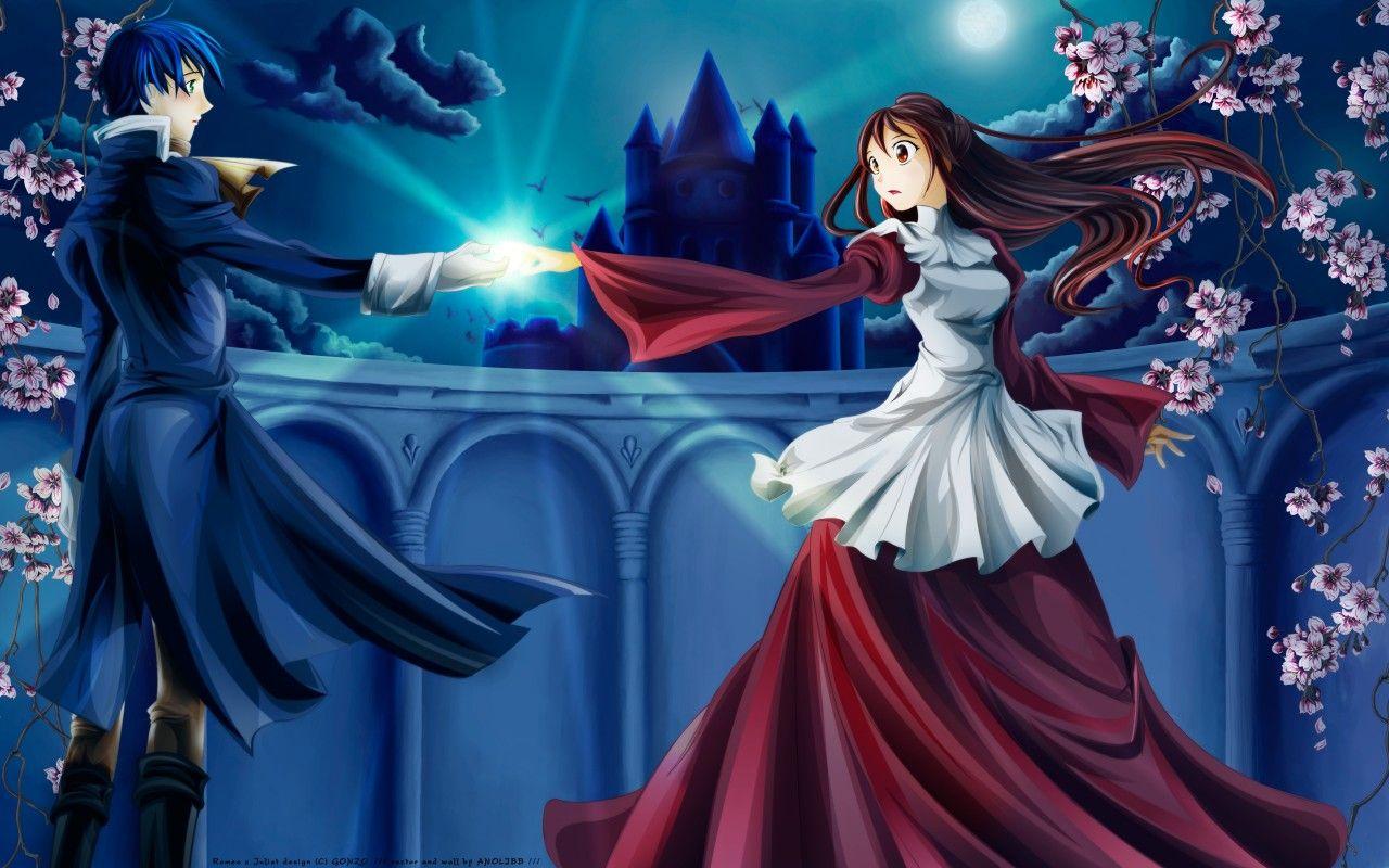 RomeoxJulietWallpapers003 Parejas de anime, Parejas