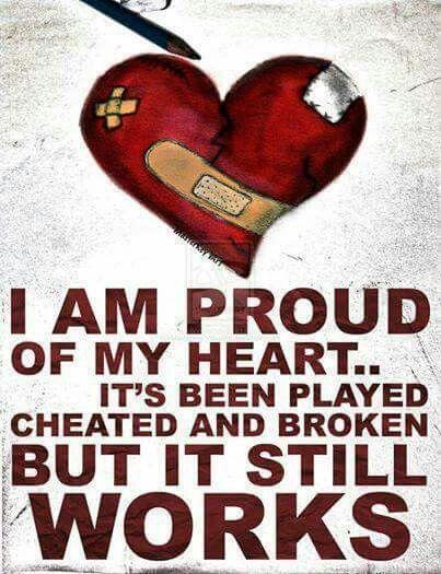 Proud of my heart!