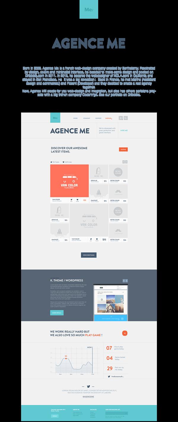 AgenceMe on Behance