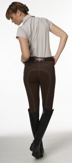 """Romfh Riding Breeches OMG I want these!! Perfect for either """"my"""" Kelly green or burgundy show jacket"""