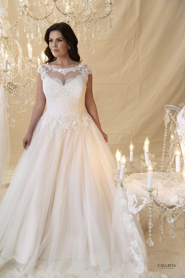 Monet I Callista Plus Size Wedding Dresses: Prinzessin & Ball Gown ...