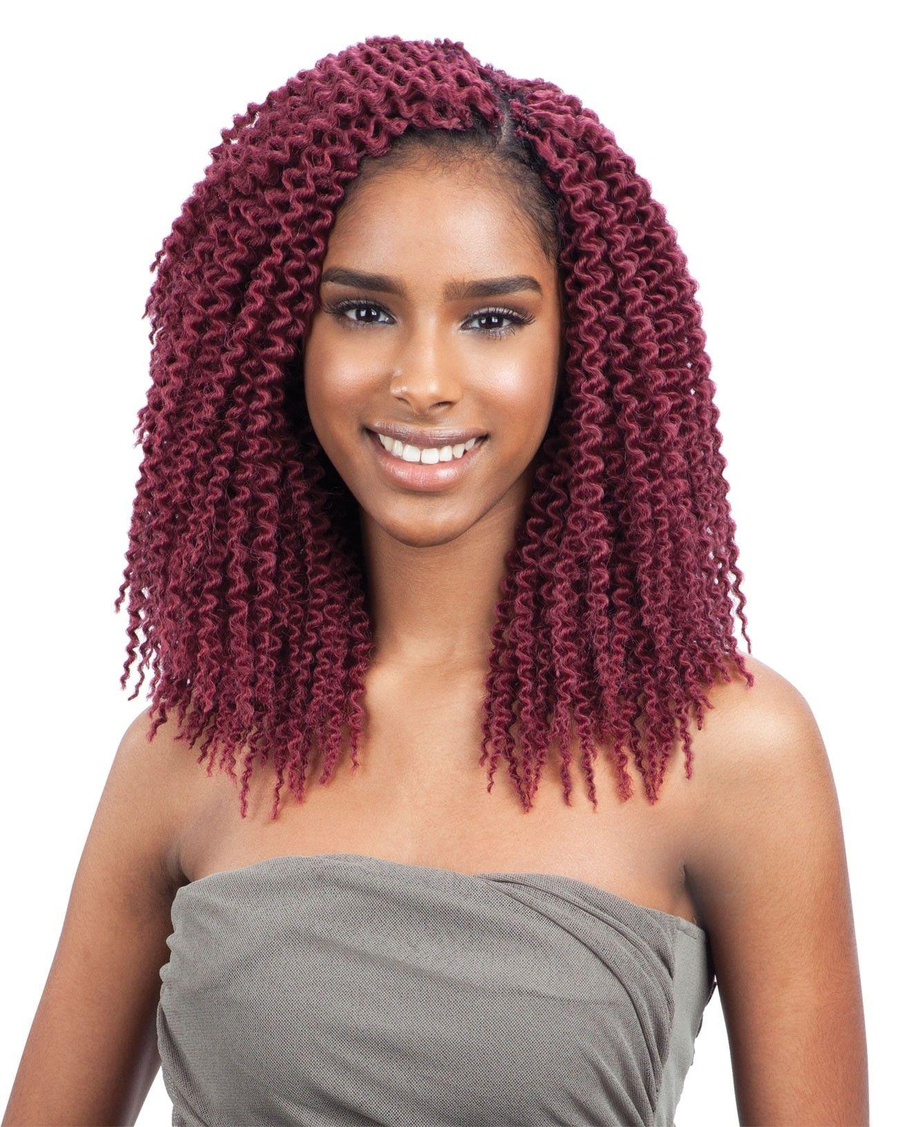 Freetress Crochet Braid Island Twist 10 Inch Crochet Braids Freetress Natural Hair Styles Hair Styles