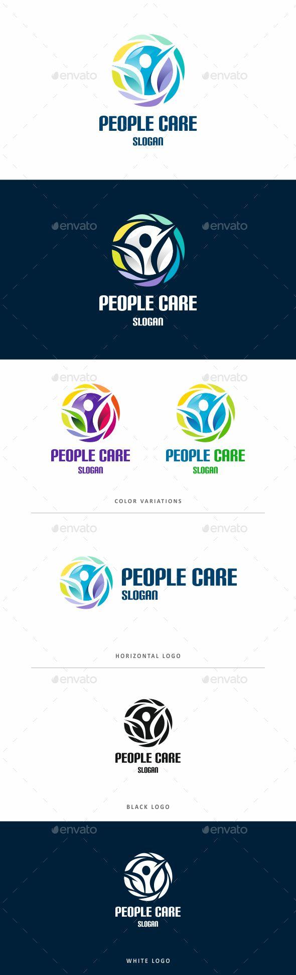 Human Human Logo Design Logo Design Template Logo Templates