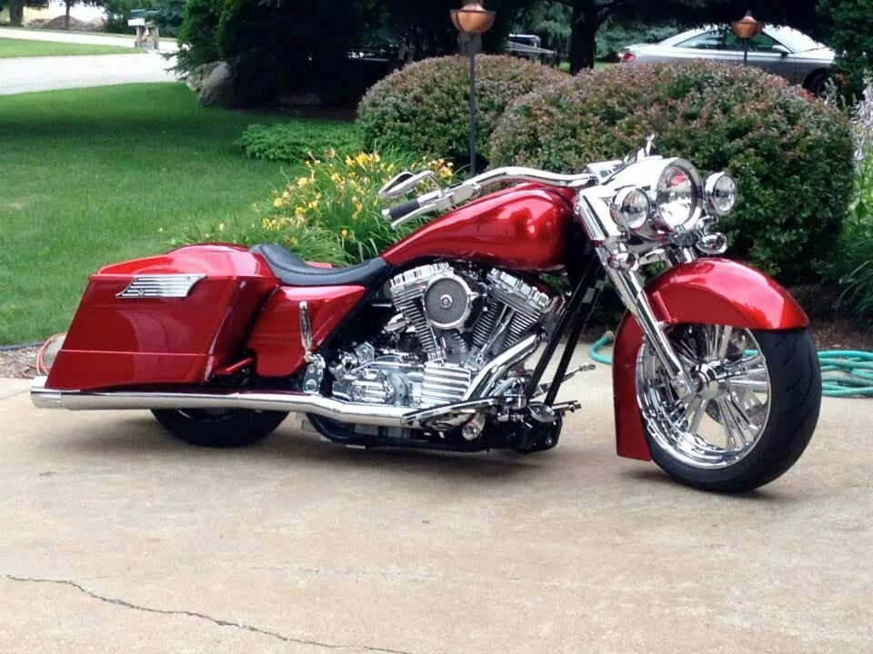 Native custom baggers 180 front tire kit