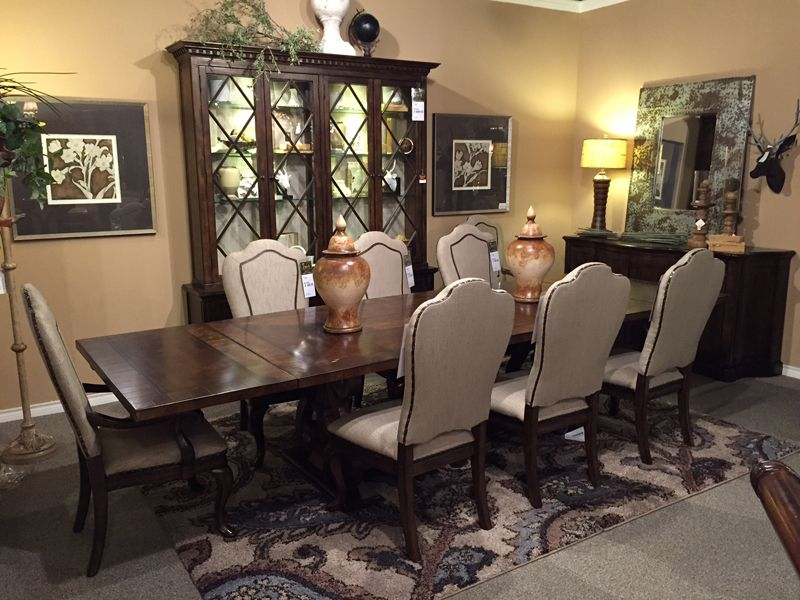 Dining Room Furniture Dallas Firenza  Freed's Furniture  Dining Room Sets  Pinterest