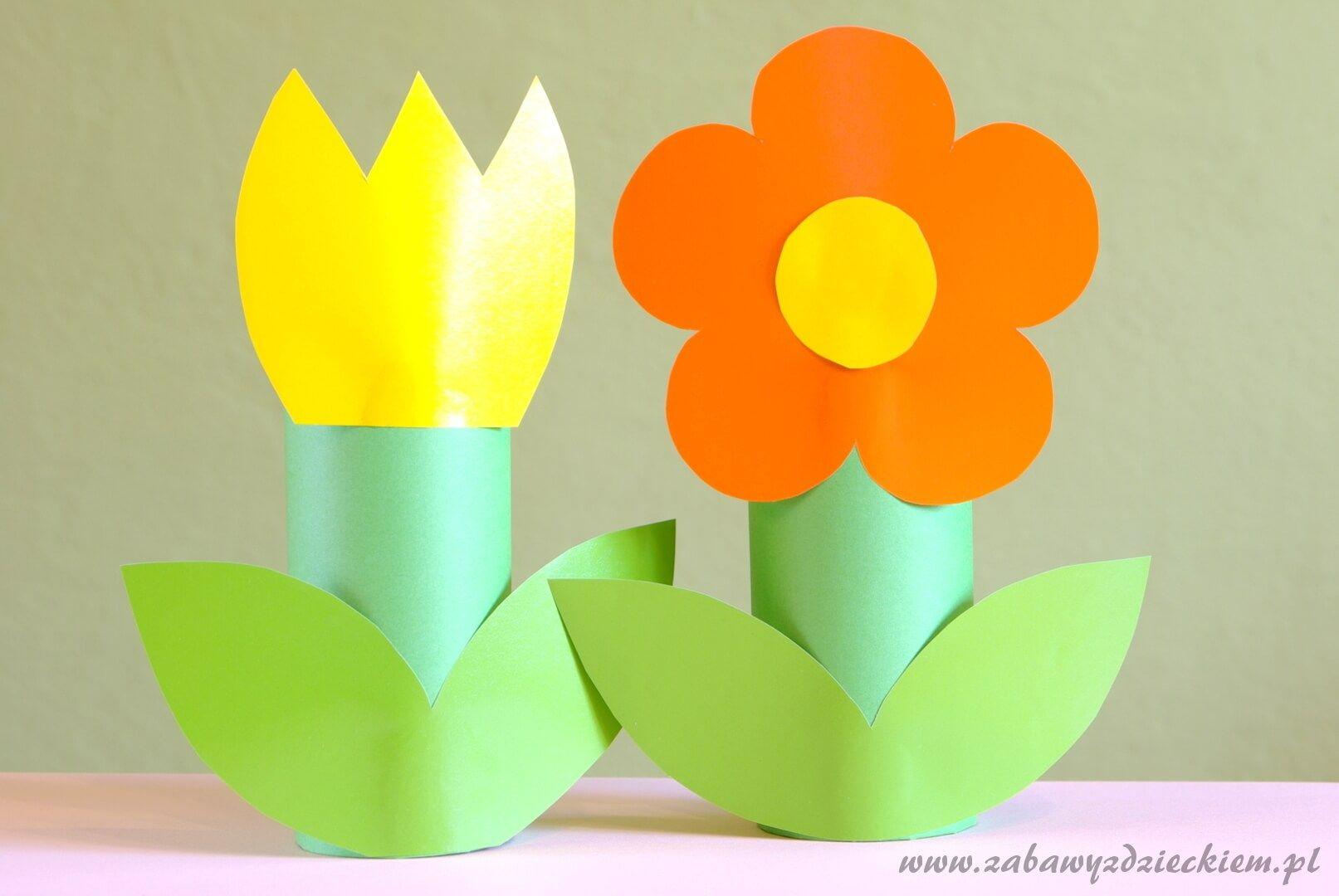 Kwiaty Z Rolek Novelty Lamp Decor Table Lamp
