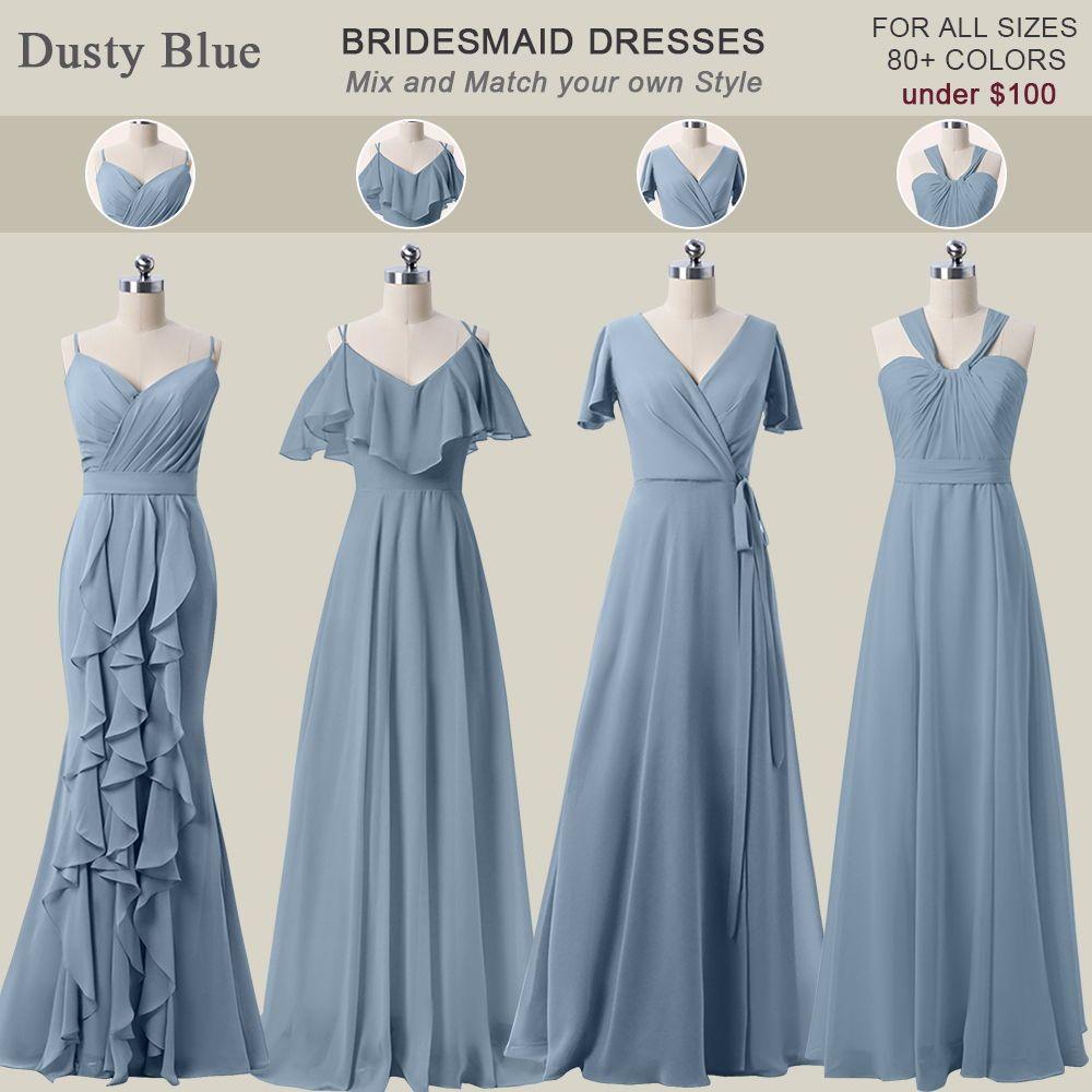 Shop Cheap Bridesmaid Dresses Under 100 Online At Wednova Com Cheap Bri Dusty Blue Bridesmaid Dresses Latest Bridesmaid Dresses Blue Bridesmaid Dresses Short