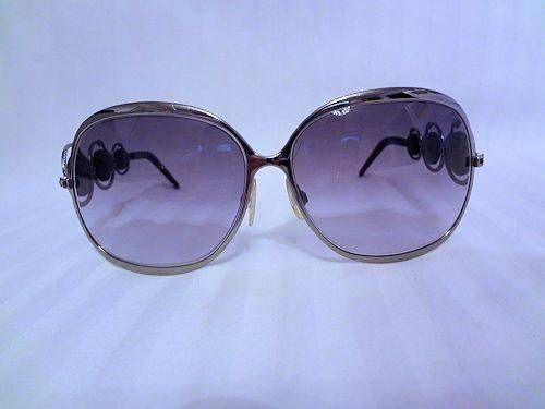 $25.95 Used Roberto Cavalli Corallo 441S Chrome and Burgandy Frames Italy Sunglasses #RobertoCavalli #Corallo441S