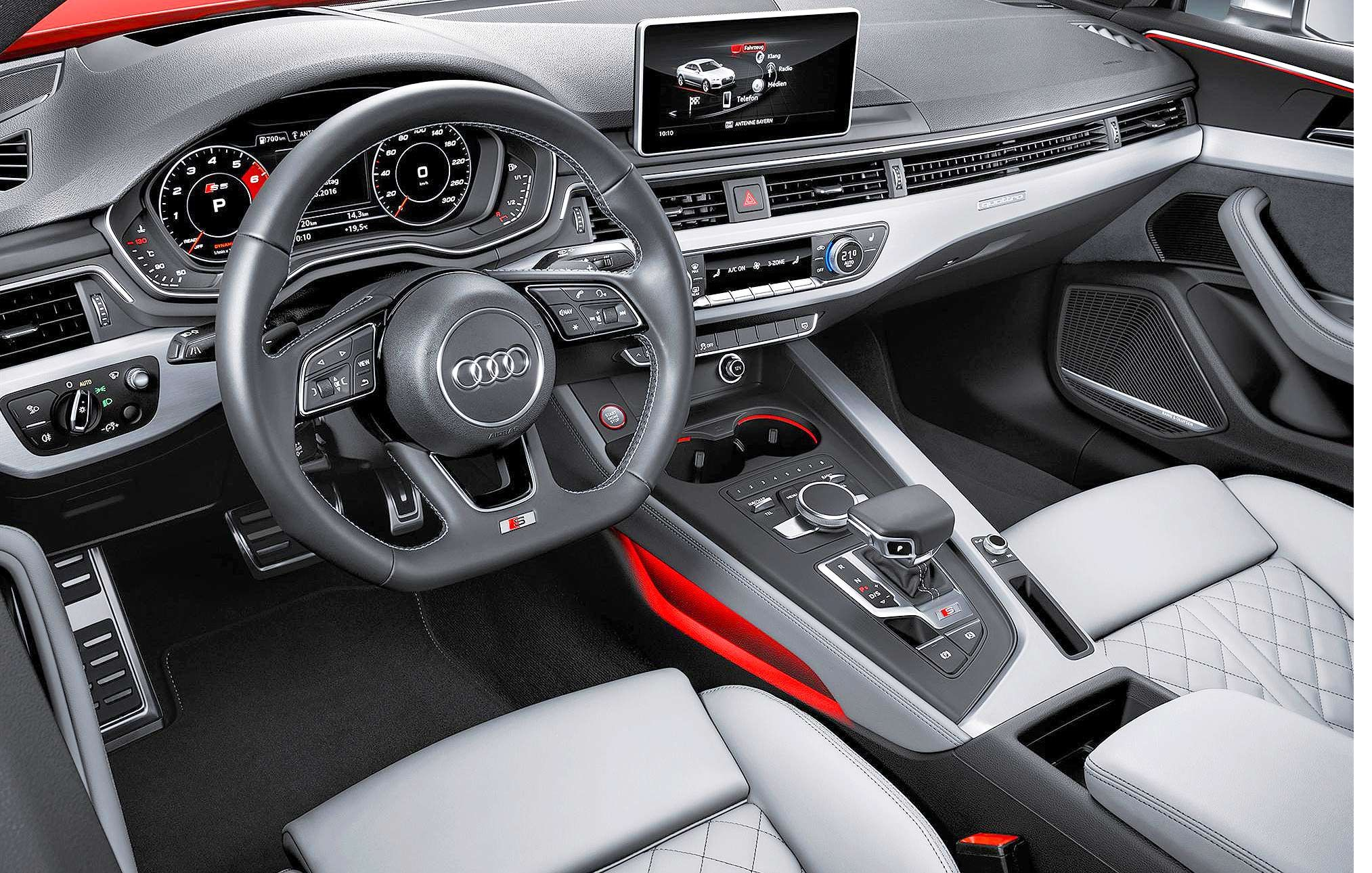 2019 Audi Rs5 Features Interior A Performance Audi A5 Interior Audi S5 Audi A5 Coupe