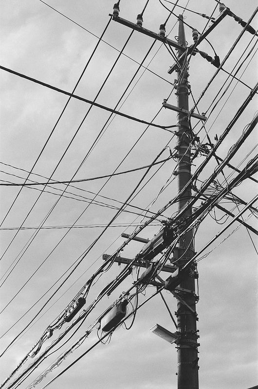 Telephone Pole Wiring