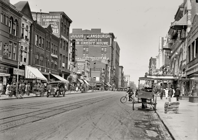 Pin By Morgan Oliver On Atlantis Street Scenes Old Photos Shorpy Historical Photos