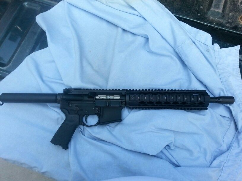 AR 15 pistol - Spikes tactical upper/lower and pistol buffer