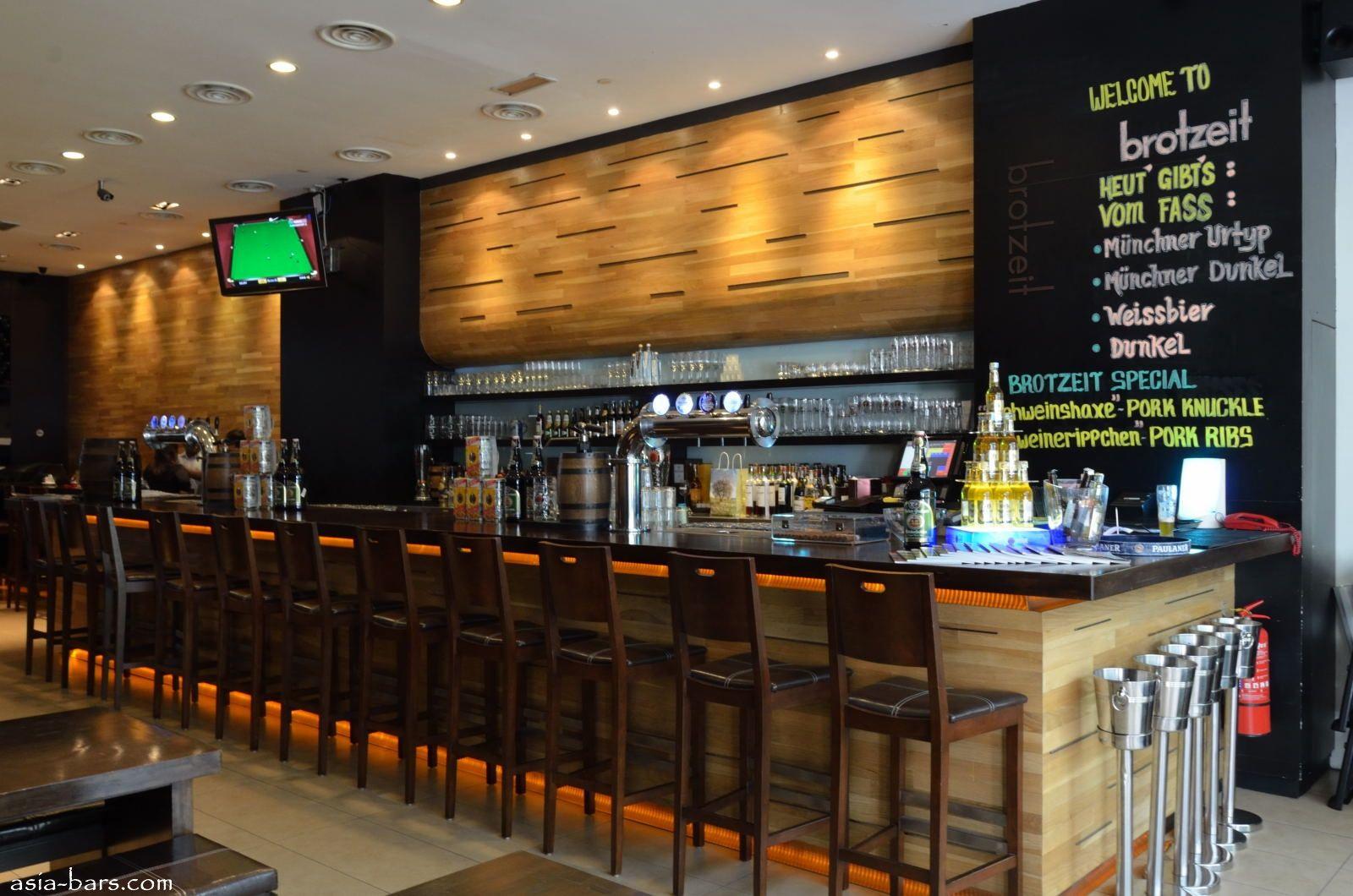 Elegant Amazing European Bar And Restaurant Interior With Wall Menu Idea κρασοθηκες  στην ακρη συνδυασμός με θέση
