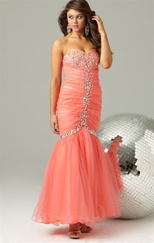 3011c354ee6 Deb Prom Strapless Long  Prom  Dress with Stone Details and  Mermaid Skirt   189.90