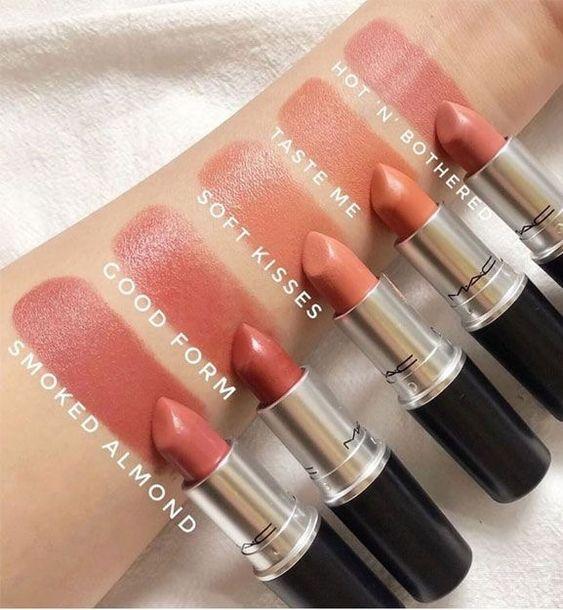 MAC must have lipsticks