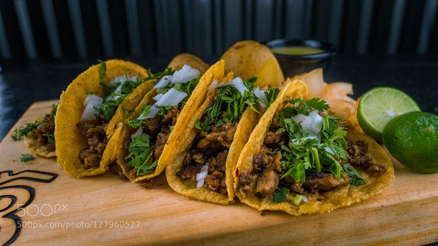 Pic: Tacos de carne asada