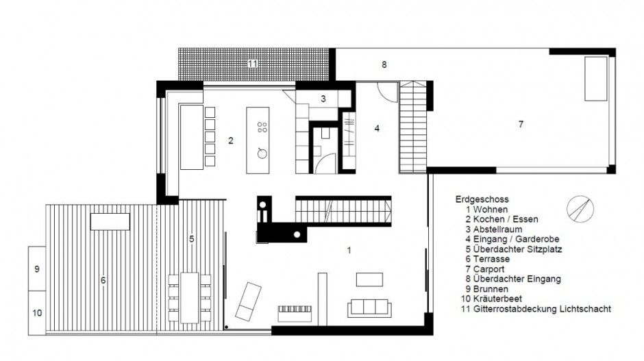 Free Contemporary House Plans Designs | House Style | Pinterest