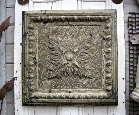 Antique Pressed Tin Ceiling Tiles