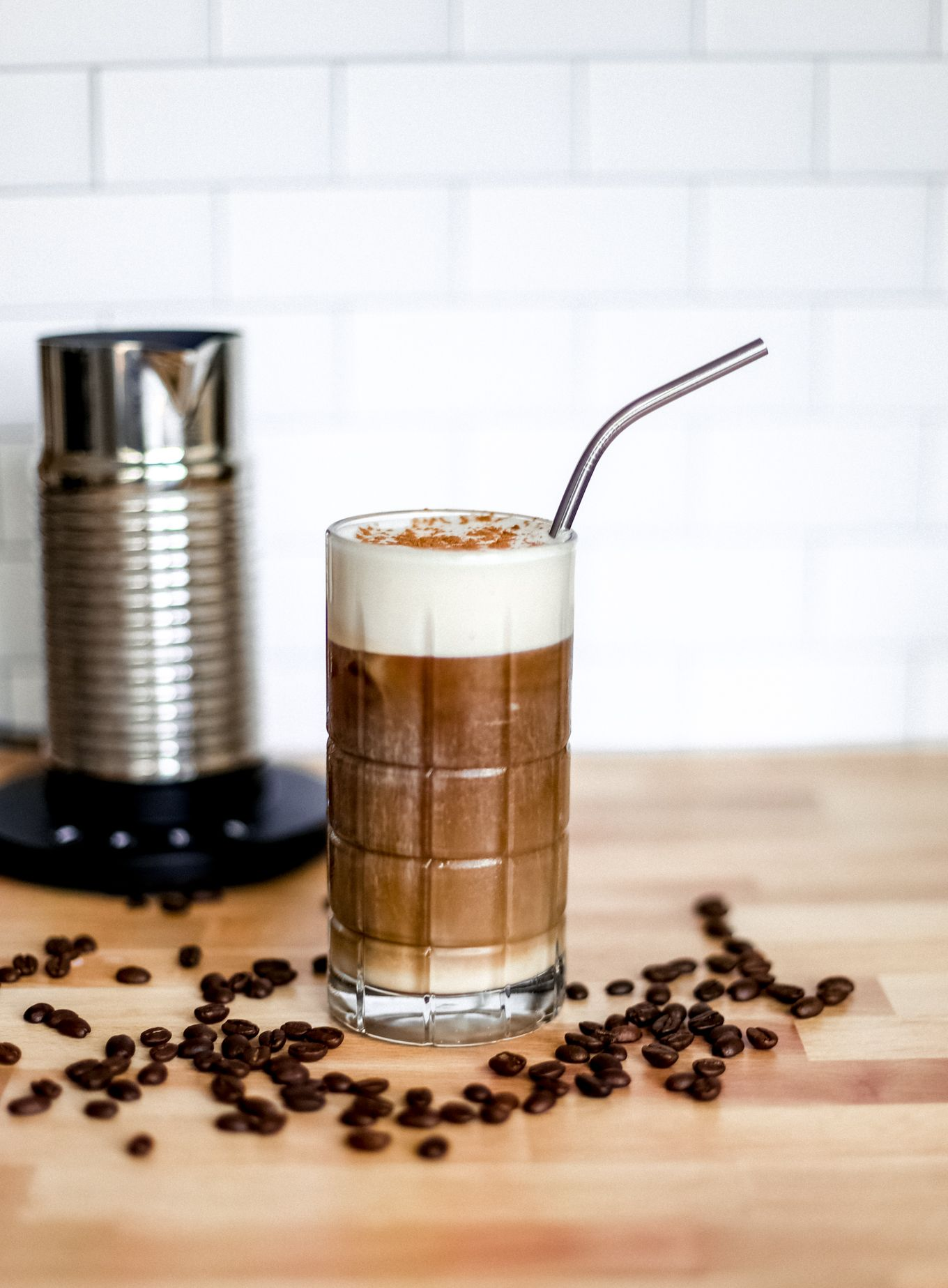 How to make iced latte easy recipe lake shore lady