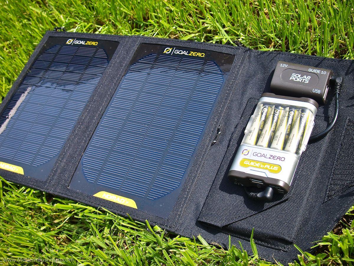 Goal zero nomad 7 solar panel kit expanded portable