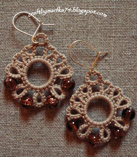sweet tatted earrings