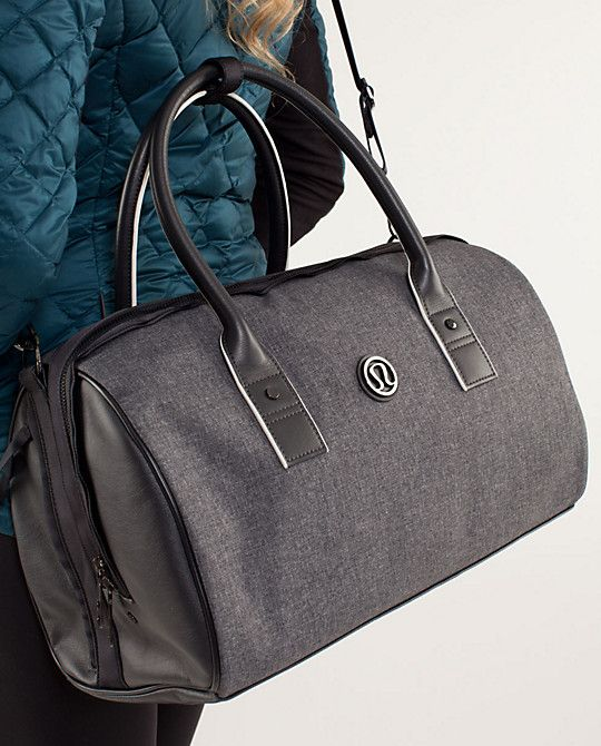 f5cc797b356c Lululemon Om Duffle Bag for trips to the gym or light weekends away!   lululemon athletica