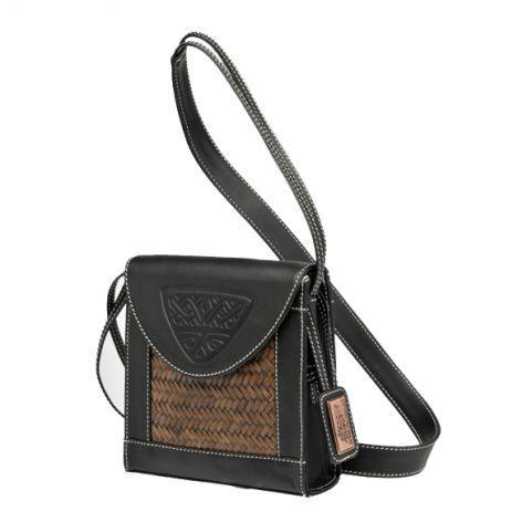 mini shoulder bag, Arbol de Viento $120  Movement dark