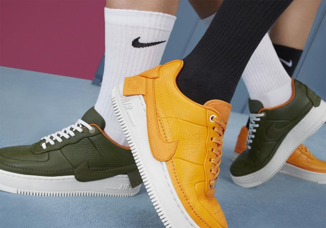 nike air force 1 jester femme orange