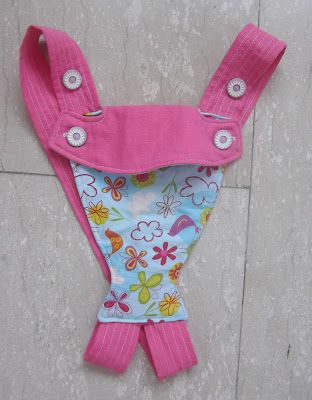 SUCCESS* (Mostly) sew bossi: Baby doll carrier tutorial. My only ...