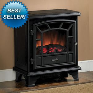 Duraflame Freestanding Electric Stove With Remote Control