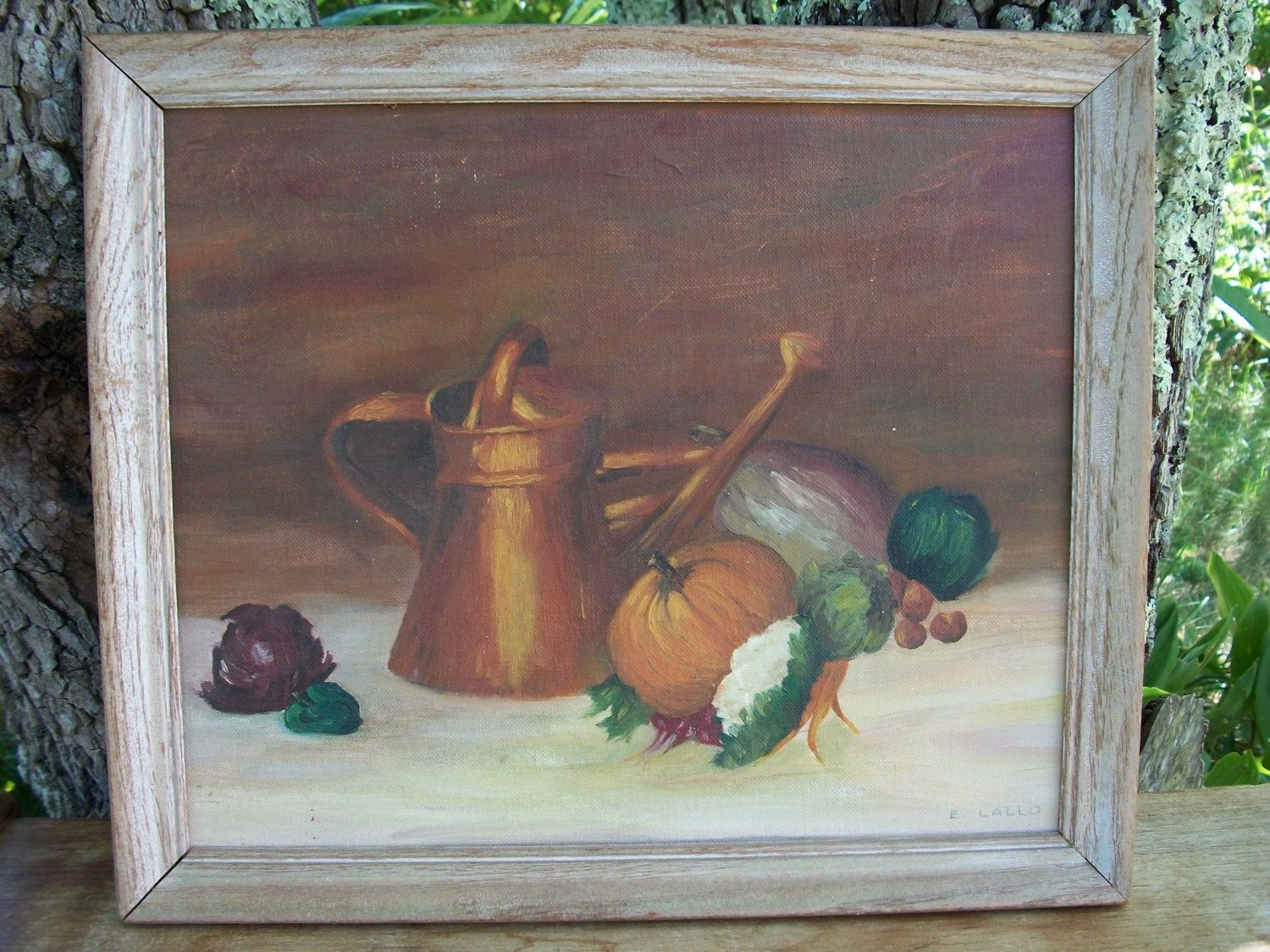 Fall Tablescape Painting