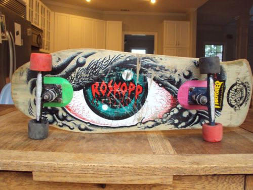 Cjhith Has A An Awesome Vintage Rob Roskopp Skateboard For Sale Sure Its Got Some Stickers And Few Scratches But The Angry Eye Is Still Effective
