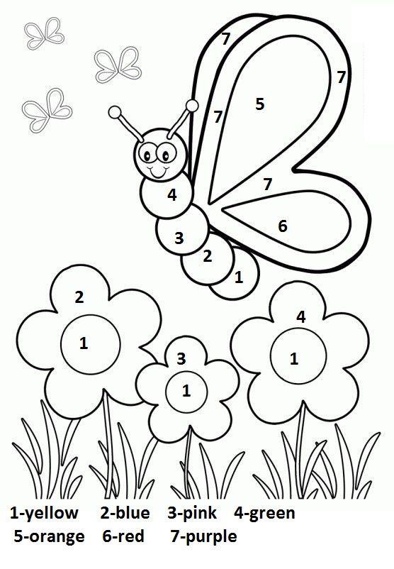 Free Printable Spring Worksheet For Kindergarten 3 Kindergarten Coloring Pages Math Coloring Worksheets Coloring Worksheets For Kindergarten