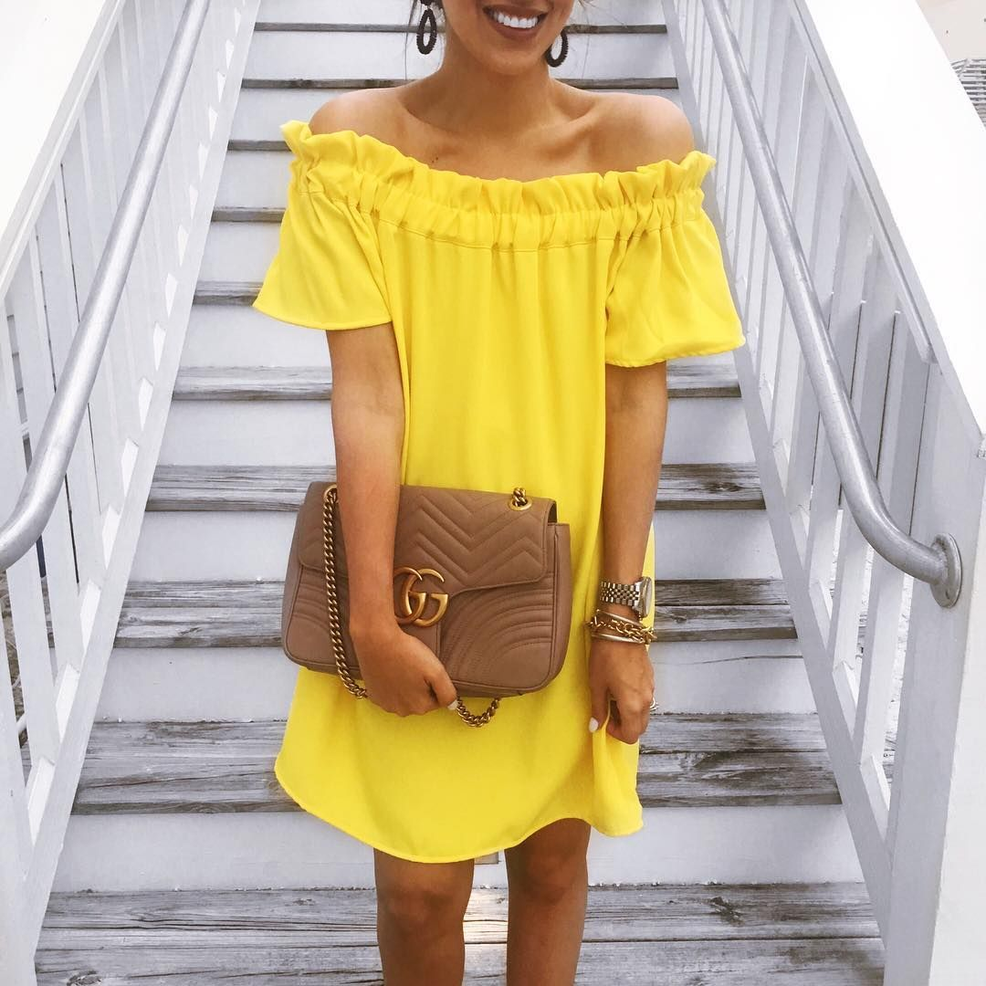 Yellow dress style pinterest dresses outfits and clothes