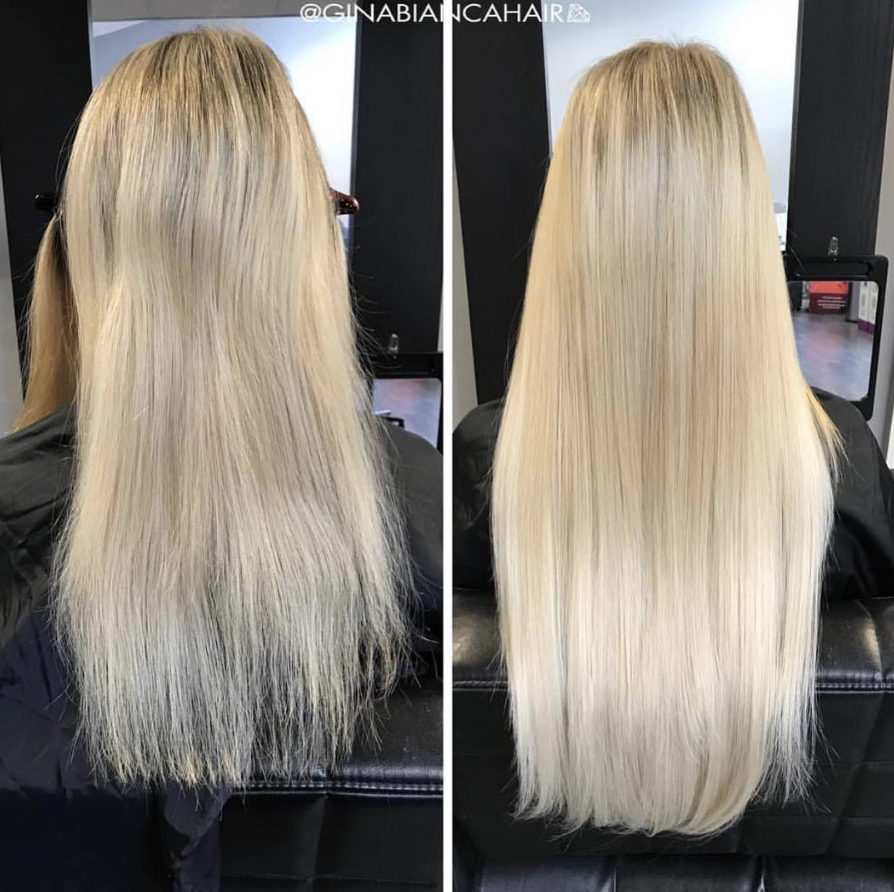 Add Volume To Your Already Long Hair With Glam Seamless Hair