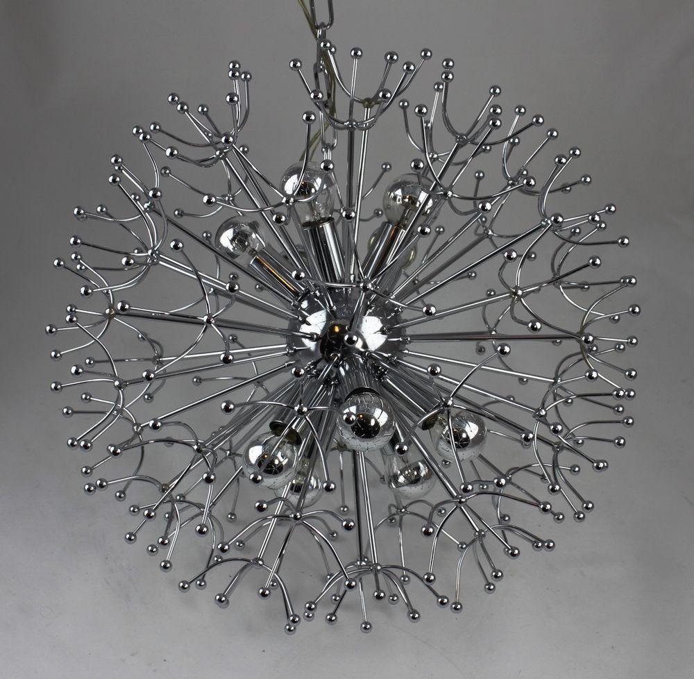seltene gaetano sciolari lampe designerlampe - pusteblume - mid