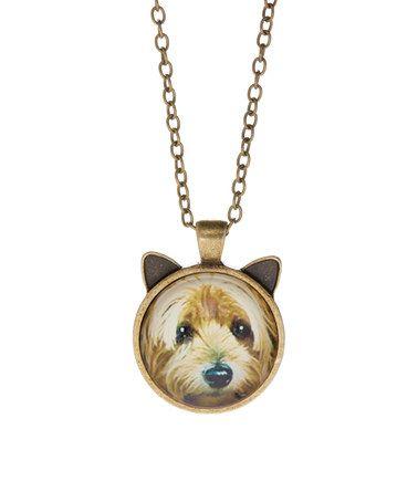 Love this bronze yorkie pendant necklace on zulily zulilyfinds love this bronze yorkie pendant necklace on zulily zulilyfinds aloadofball Gallery