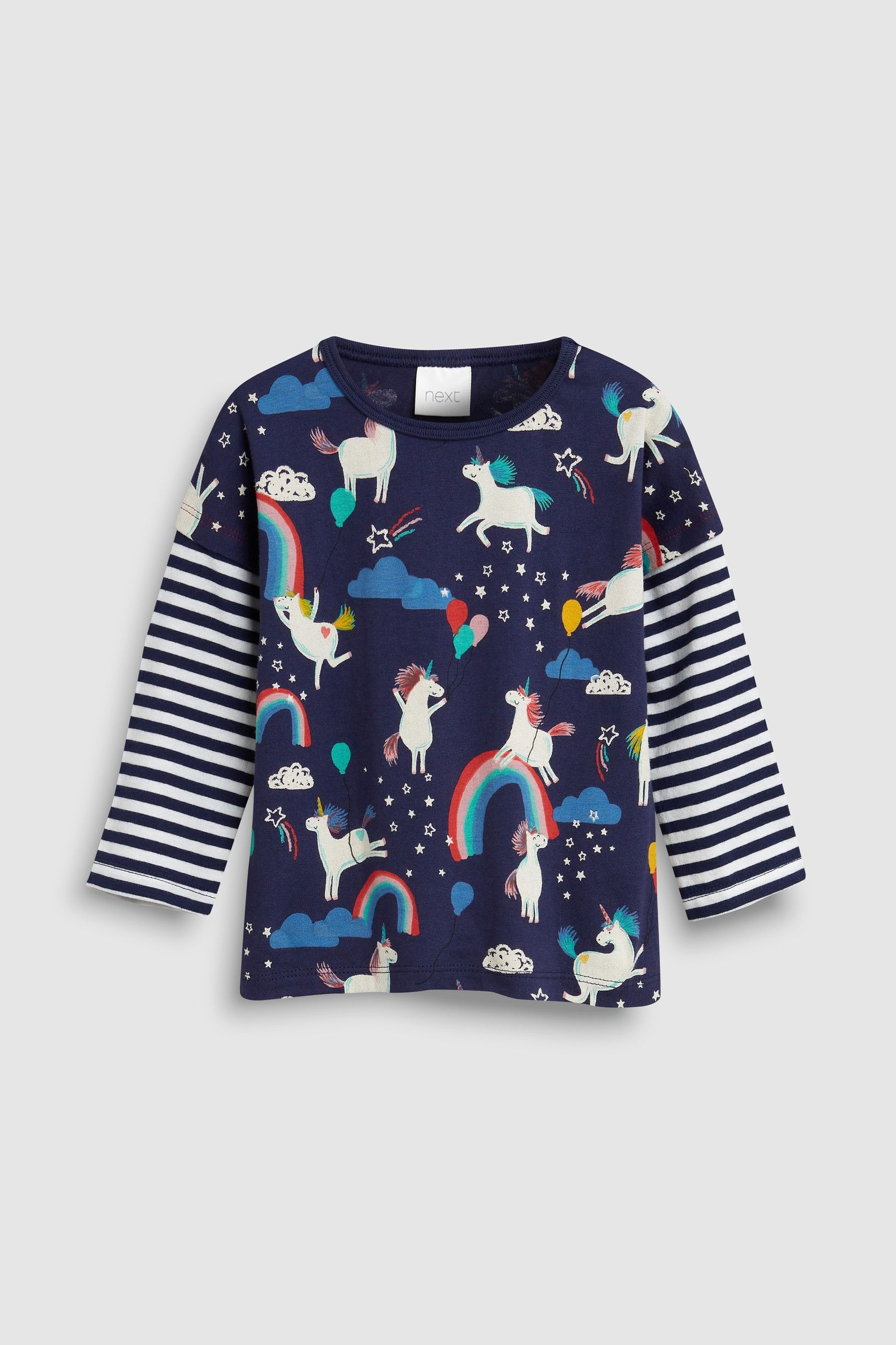 f7ded6ddf938 Buy Multi Short And Long Sleeve T-Shirts Three Pack (3mths-7yrs ...