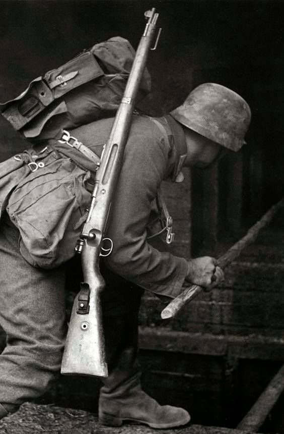 German Soldier at the Maginot Line, Battle of France, 1940