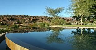 Infinity Pool at Bushman Kloof