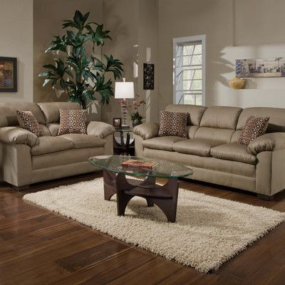 Red Barrel Studio Chamberlain Configurable Living Room Set in 2018