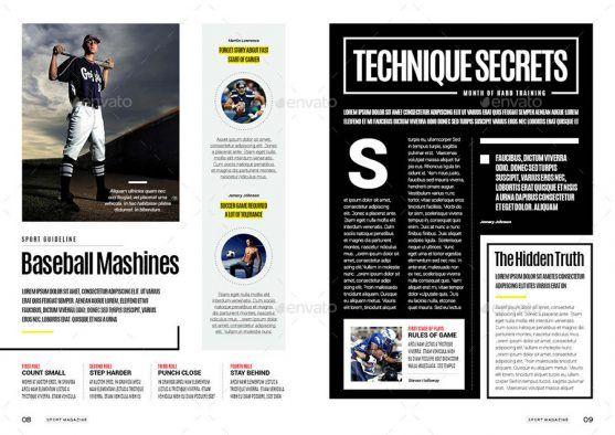 Majalah Olahraga Desain Template Soccer Match Premium Download Majalah Olahraga Template Majalah