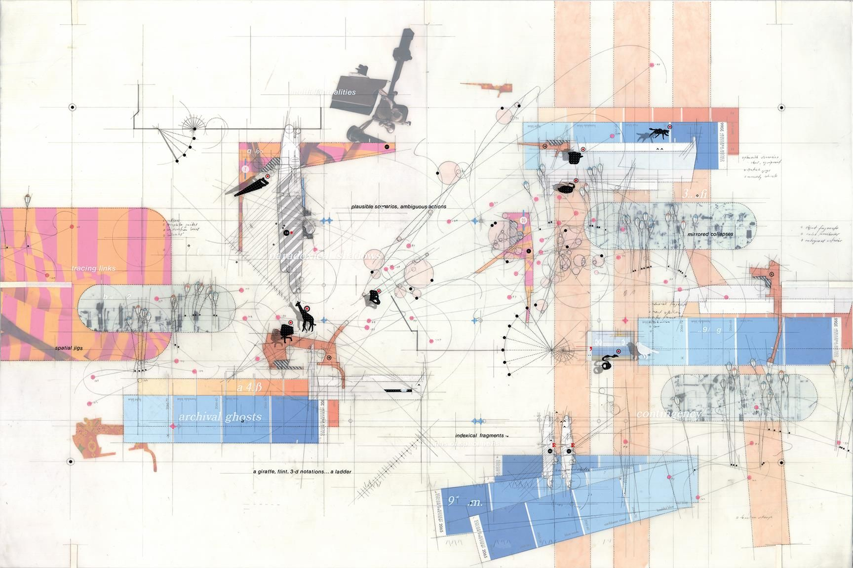 Perry Kulper Contingent V In Progress Architecture Drawing