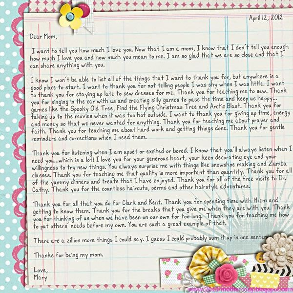 happy mother s day letters Mother s Day 2013 Pinterest