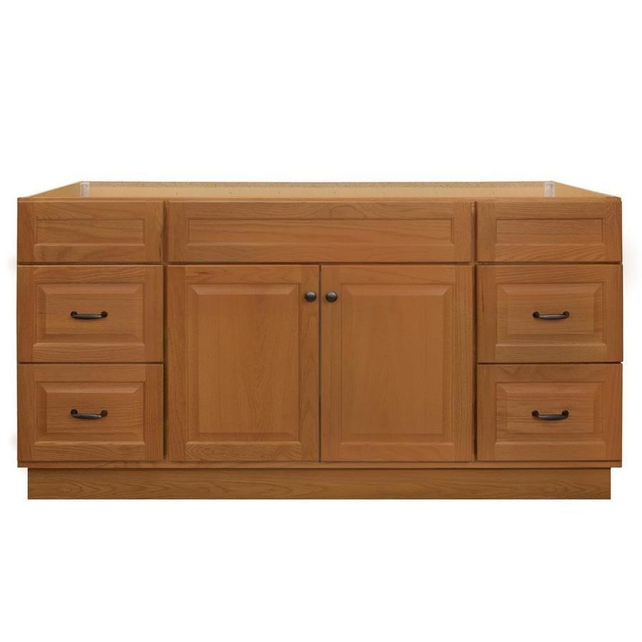 Project Source 60 In Golden Bathroom Vanity Cabinet V38061 Ps In 2020 Bathroom Vanity Cabinets