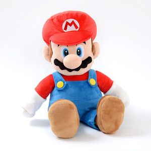 Super Mario All Star Collection: Large Mario Plushie