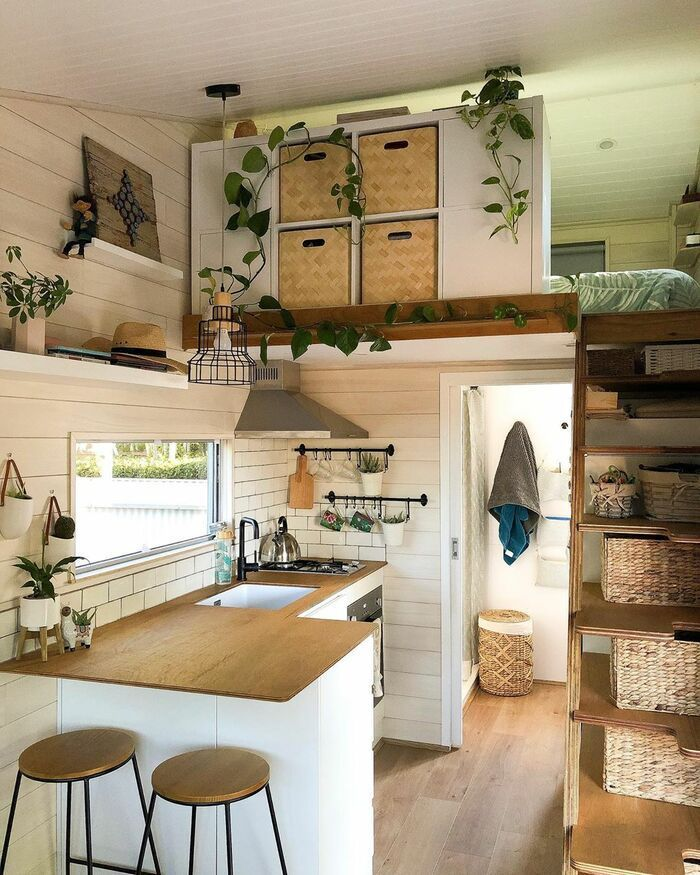 150-square-foot tiny house built for travelling Australia - Living in a