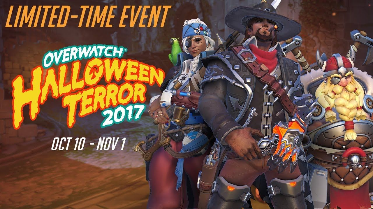 Video] Overwatch Halloween Terror 2017 #Playstation4 #PS4 #Sony ...